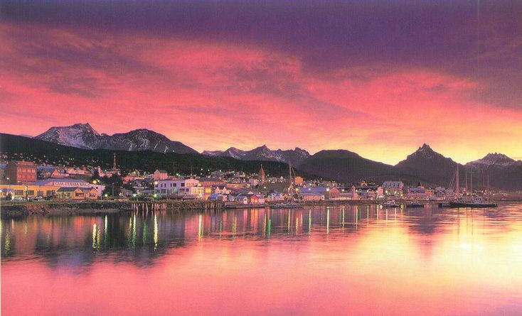 """Ushuaia, Argentina- """"the end of the world"""" city... or the southernmost city in the world. Let's go."""