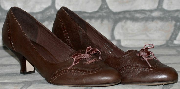 Clarks Shoes Brown Brogues