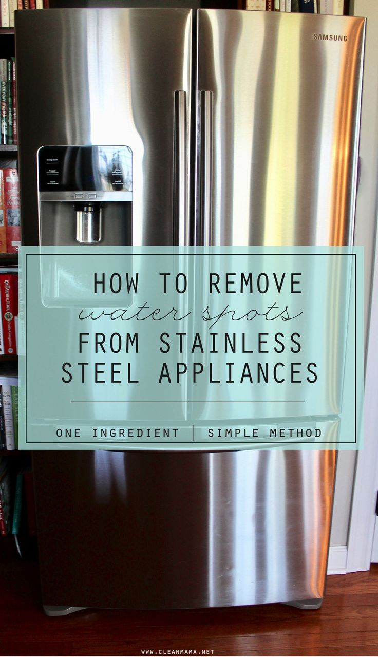 If you have stainless steel appliances, especially a refrigerator with an ice and water dispenser, you've most likely experiences those water spots and drips that seem impossible to wipe away with normal methods.  This 'issue' has come to light recently in our house with the endless water bottle filling and lots of water drinking (not... (read more...)