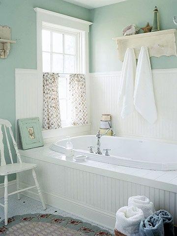 Bathroom Paint Color With Blue Tub