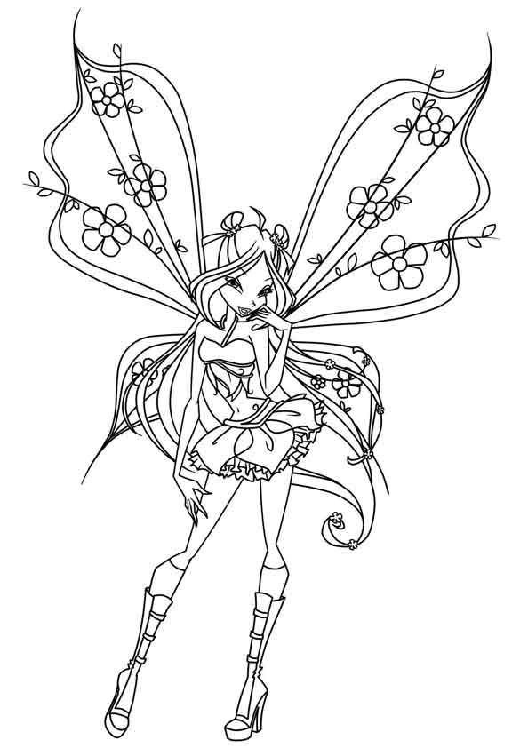 print coloring image fairy coloring pagescoloring