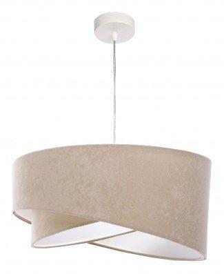 Lampa wisząca Awena beżowa - Lampy wiszące - zdjęcia, pomysły, inspiracje - Homebook