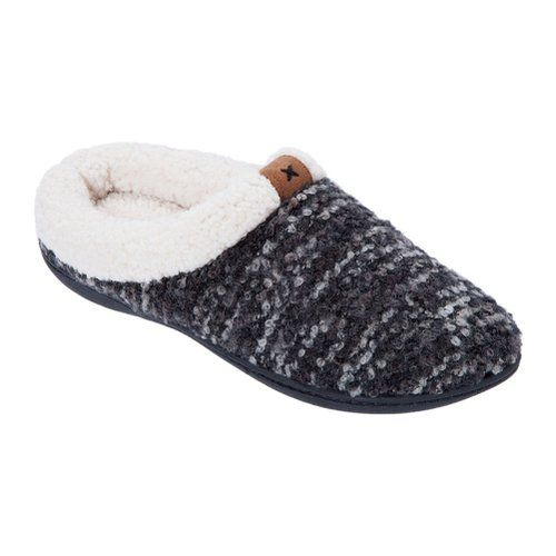 Dearfoams Knit Clog with Rib Knit Cuff Slipper(Men's) -Forest Night Fly Knit/Polyester Cheap Sale Visit 8tQCmbP5tQ