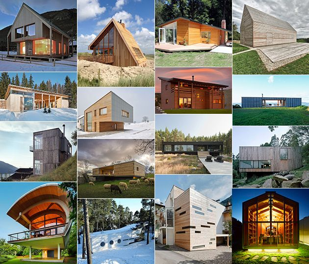 Small Wood Homes And Cottages: 16 Beautiful Design And Architecture Ideas Part 73