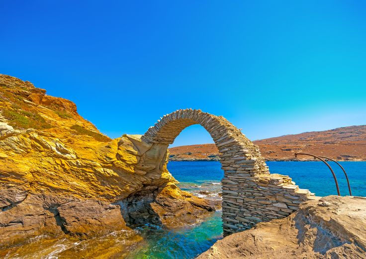VISIT GREECE| Pass the bridge and explore #Andros #island #visitgreece #greece