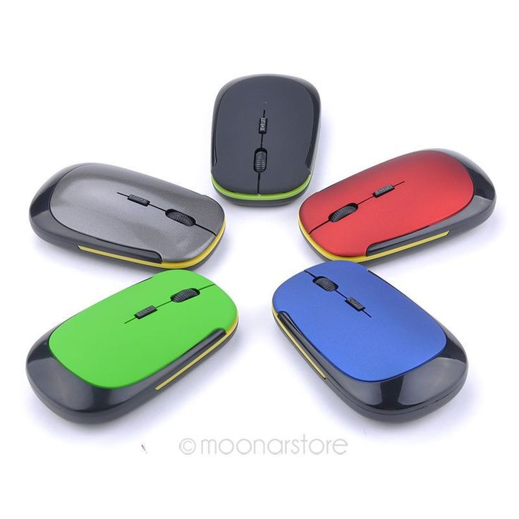 Wireless Mouse Fashion U-Shaped 2.4GHz Wireless Mouse 1600DPI Optical Mouse For Computer Laptop Free Shipping 60CJ*DA1069#Y6