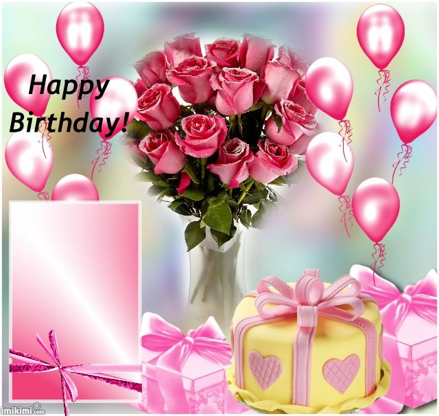 23 best linkimi images on Pinterest Birthdays, Cards and Flowers - birthday wish template