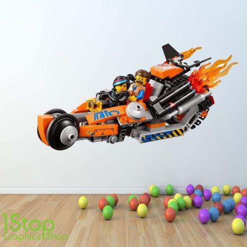 LEGO MOVIE WALL STICKER FULL COLOUR - GIRLS BOYS BEDROOM WALL ART C361   eBay