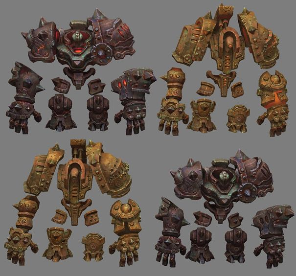 Awesome Robo!: The 3D Art of Darksiders 2 And Warhammer40K - And Some Clues About The Unannounced Vigil IP