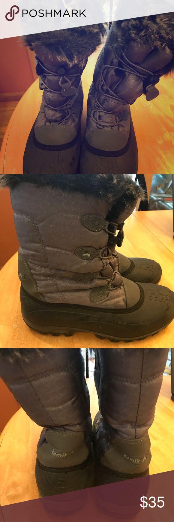 Jamie women's winter boots Great condition Kamik women's winter boots. Kamik Shoes Winter & Rain Boots