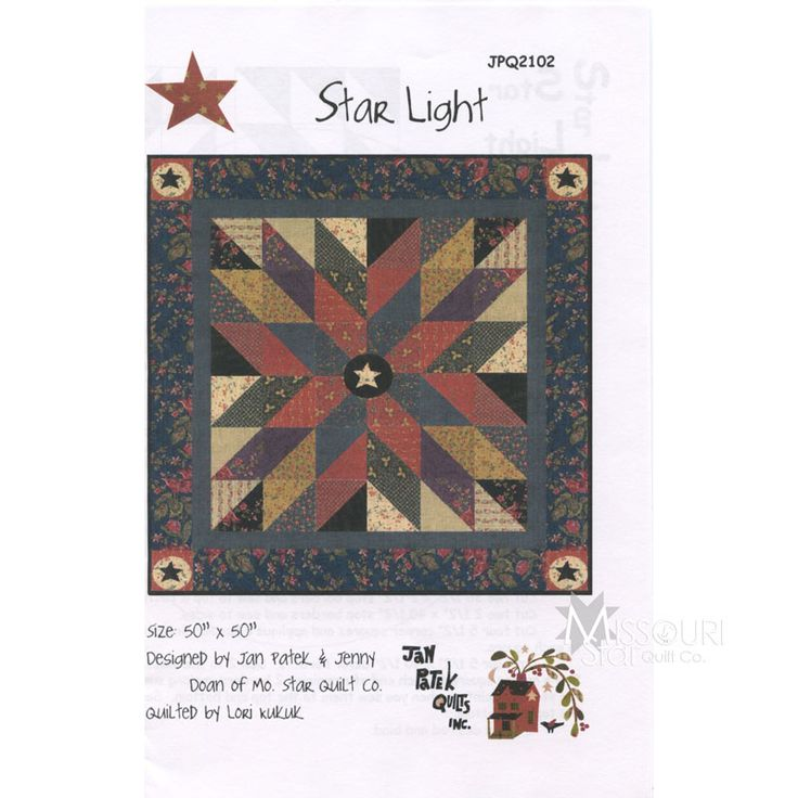 Star Light Pattern from Missouri Star Quilt Co