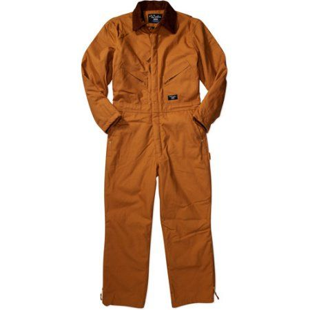 Walls - Men's 12-oz. Duck Insulated Coverall, Brown