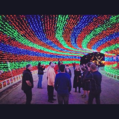 Zilker Trail of Lights, Austin girls and I are giving this a go tonight
