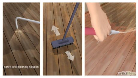 Seal And Stain Pressure Treated Wood Decking Step 421 Pinterest Woods