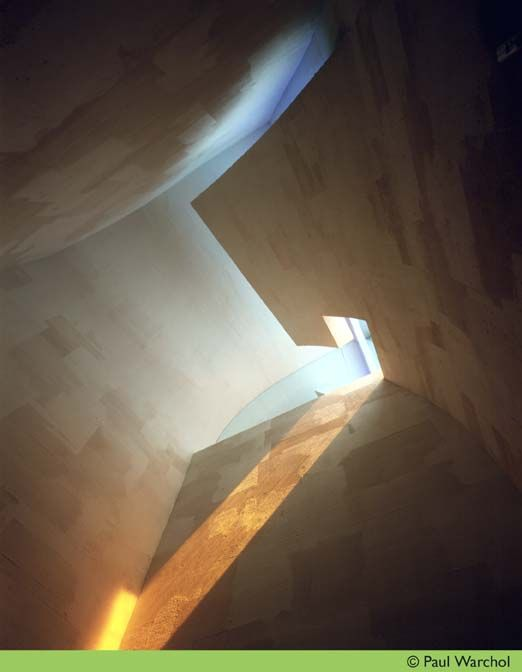 AD Classics: Chapel of St. Ignatius / Steven Holl Architects section + plan – ArchDaily