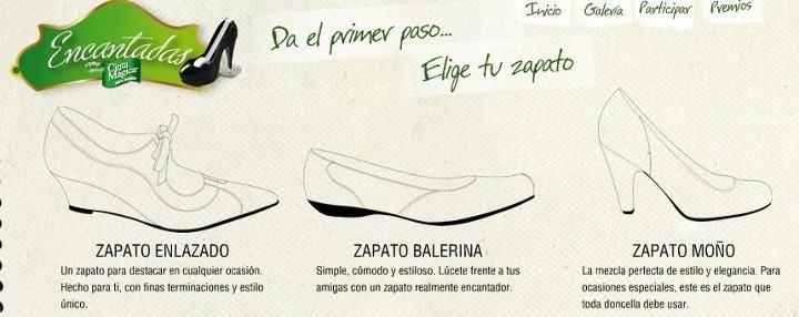 Elige tu estilo de zapato