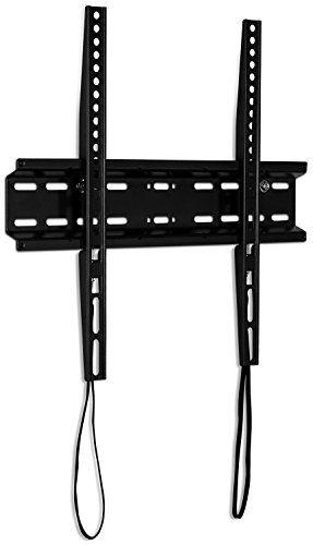 "Mount-It! Slim TV Wall Mount Fixed TV Bracket for flat screens 32 inch - 55 inch LED, LCD, and Plasma television - 77 lbs capacity, 1.1"" low profile design, Max VESA 400 x 400 VESA (MI-3050) #Mount #Slim #Wall #Fixed #Bracket #flat #screens #inch #LED, #LCD, #Plasma #television #capacity, #profile #design, #VESA"
