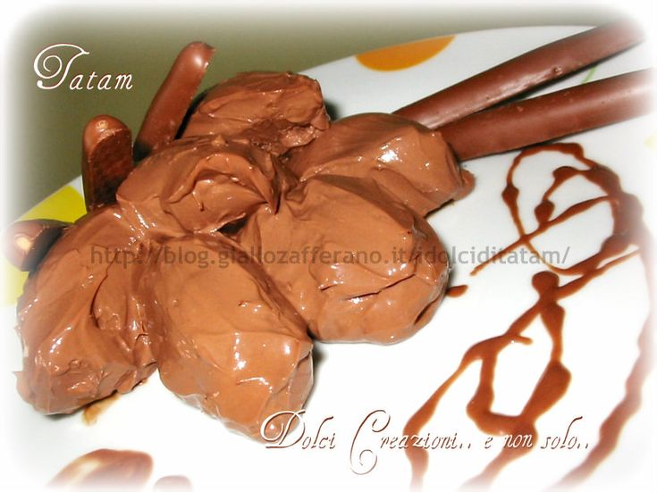 Crema Namelaka al cioccolato fondente