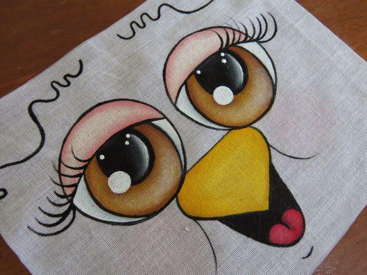 Artes Mariana Santos: Passo a Passo Olhinhos (olhos castanhos numero 1)