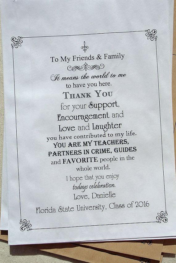 Graduation Favors Graduation Party Favors