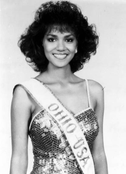 Halle Berry ~ Miss Ohio USA 1986