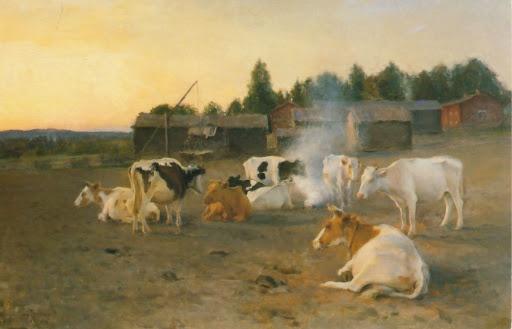 Eero Järnefelt: Lehmisavu, 1891