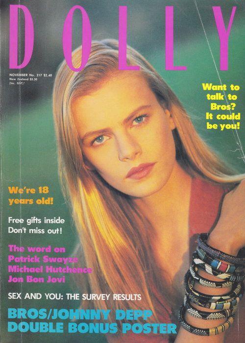 Dolly Magazine November 1988 | Emma Balfour