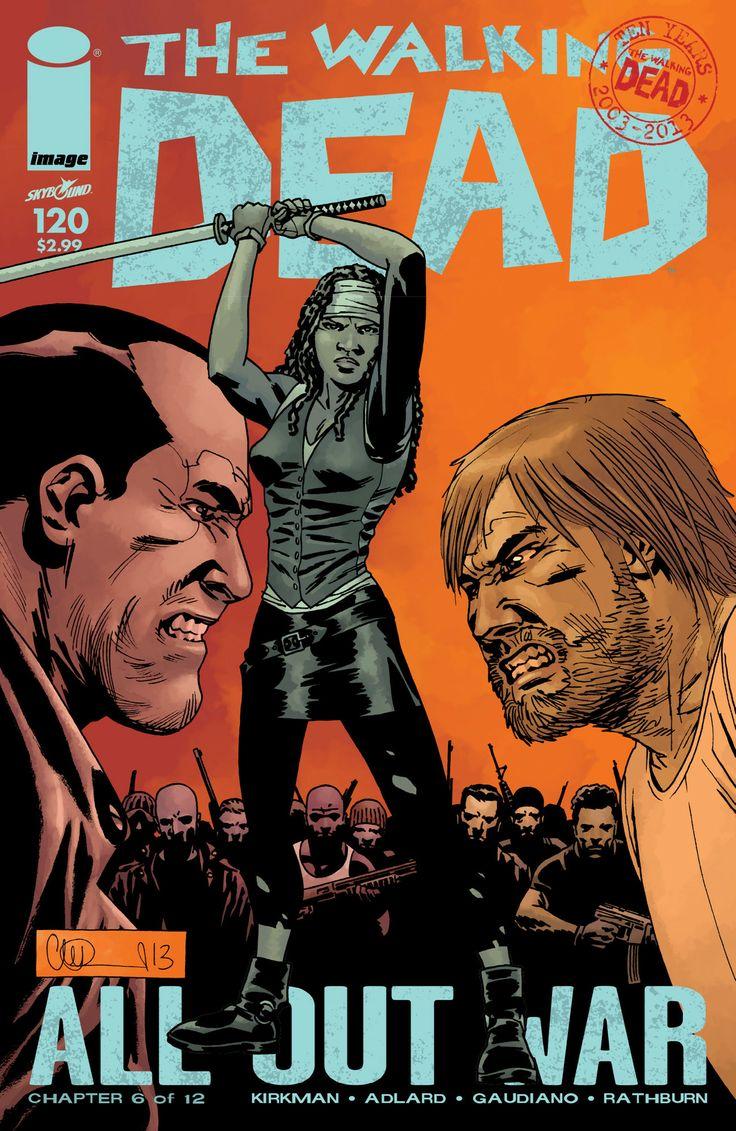 The Walking Dead : Comic Artwork #walking #dead #comics #artwork #zombies #amc #walkingdead