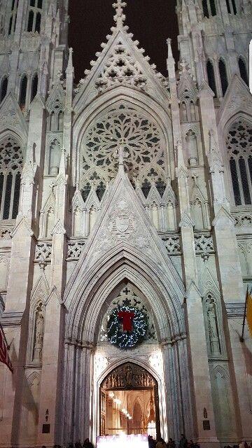 St Patricks cathedral  xmas 2015