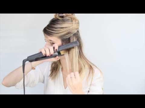 Les boucles au lisseur de Roxanne – Les tutos de l'équipe The Beautyst