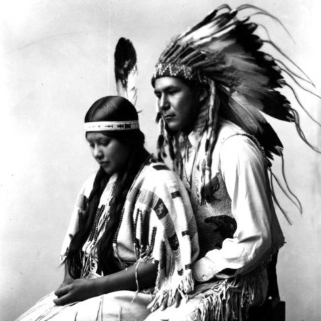 Native Love: Beautiful Young Native American Couple