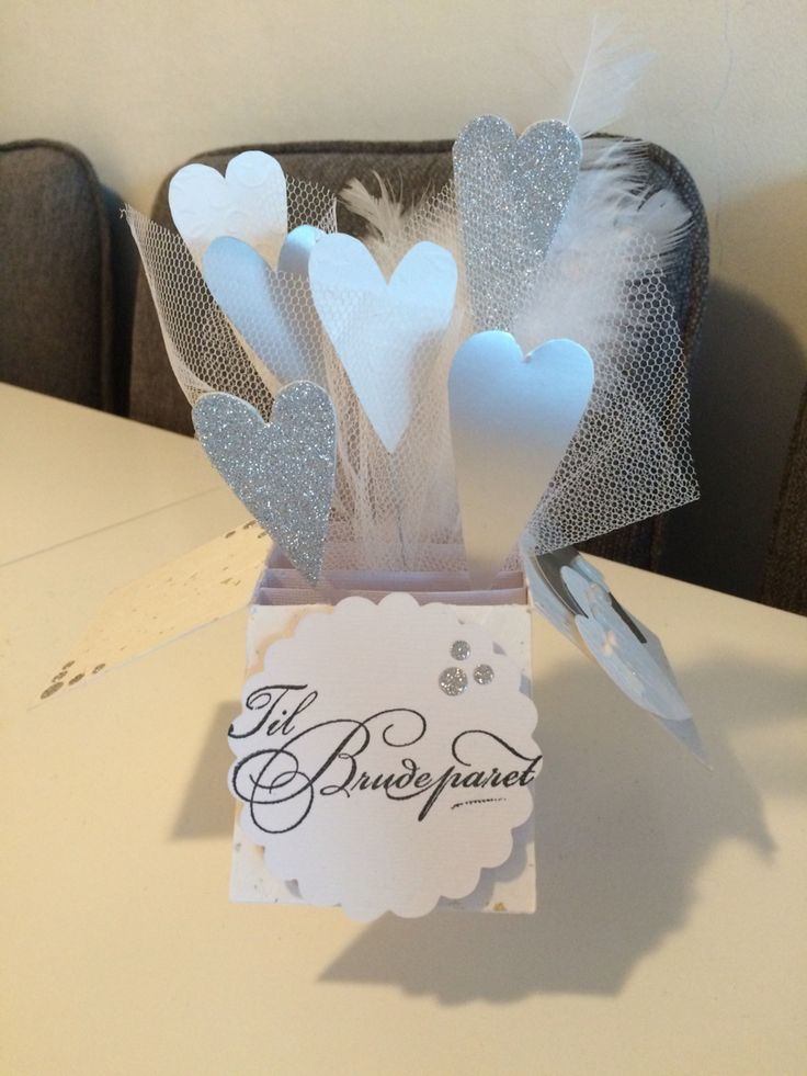 Wedding popup card for new years eve
