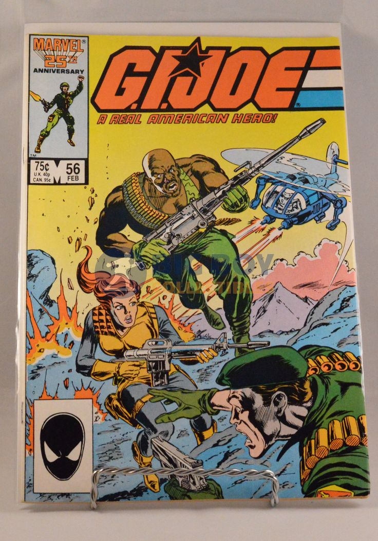 This GI Joe (1987 Marvel) #56 Comic comes exactly as shown in pictures. Comic is in good condition. WARNING: CHOKING HAZARD-Small parts. Not for children under 3 years.