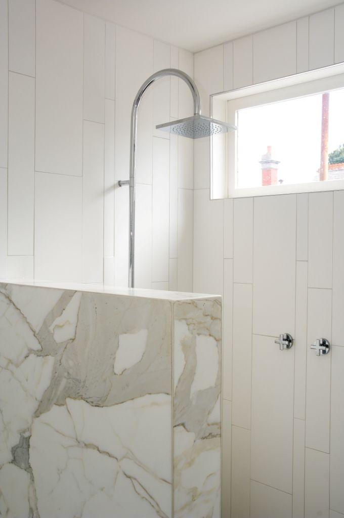 Elegant White Shower | Elwood KAYSTONE, AUSTRALIA