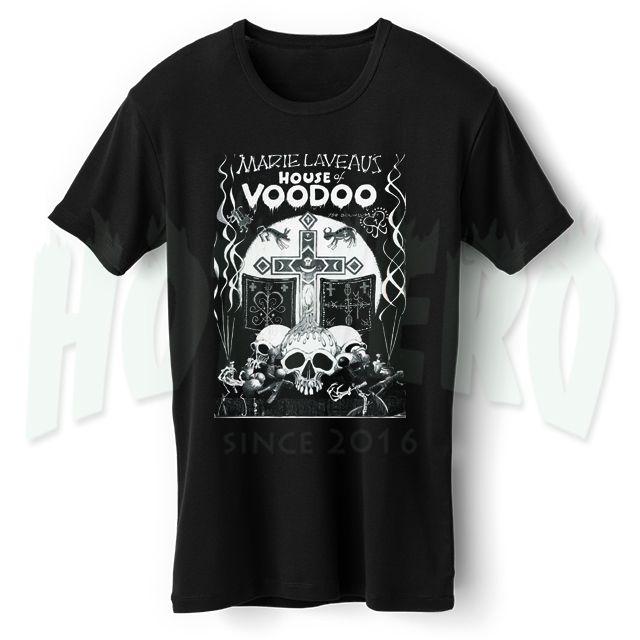 Cheap Urban Clothing Marie Laveaus Voodoo Horror T Shirt //Price: $14.00//     #cheapurbanclothing