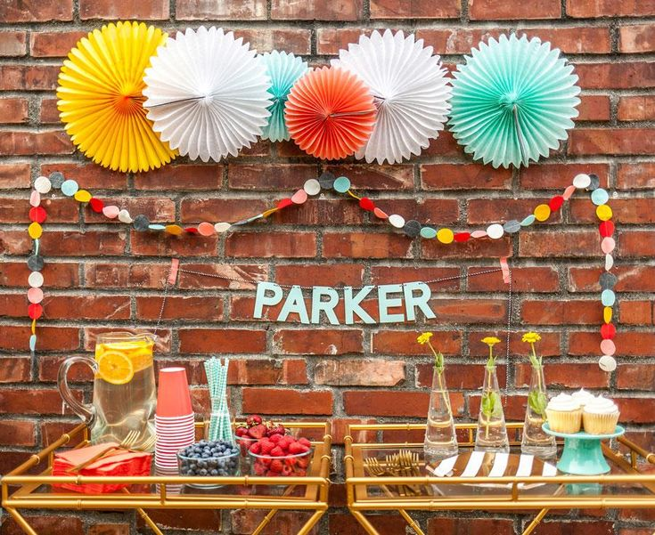 DIY Paper Pinwheel Backdrop or Wall - The Party Dialect ...