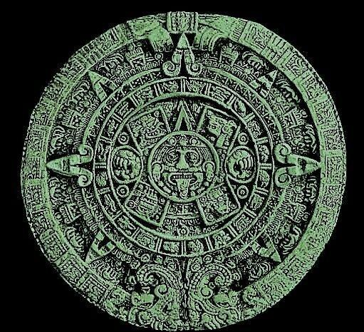 Maya calendar relief 3d model relief for cnc in STL file format
