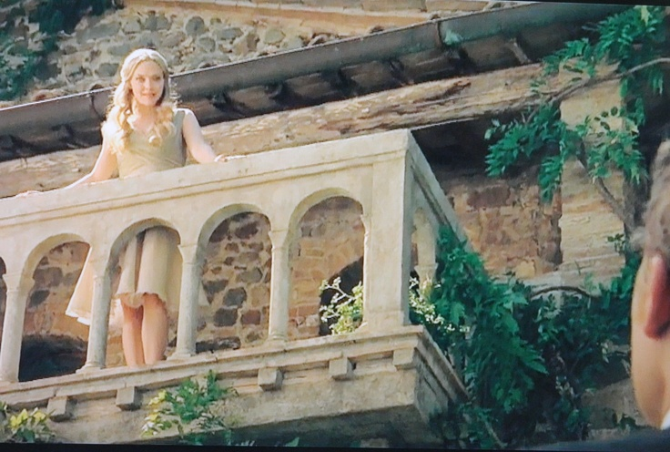 Letters To Juliet balcony scene - this movie made me want to come to Italy :)