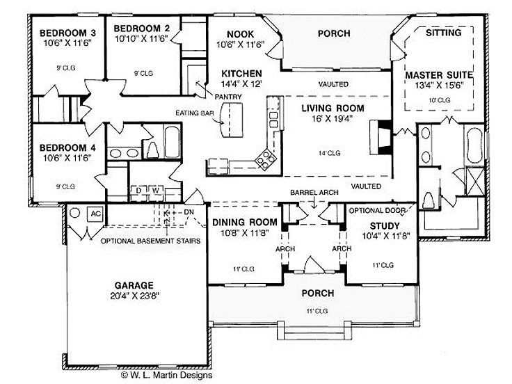 4 bedroom house plans 3000 square feet for House designs under 200 000