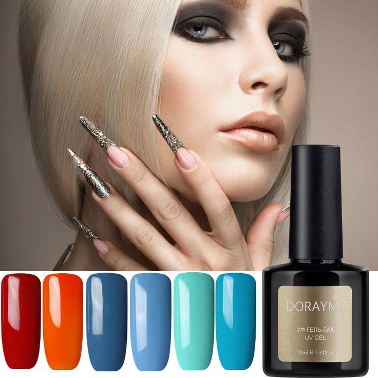 1pcs NEW BluePlace DORAYMI 10ML Nail Art Soak Off Color UV Dry Foundation Gel Polish Primer Bonder Intense Seal