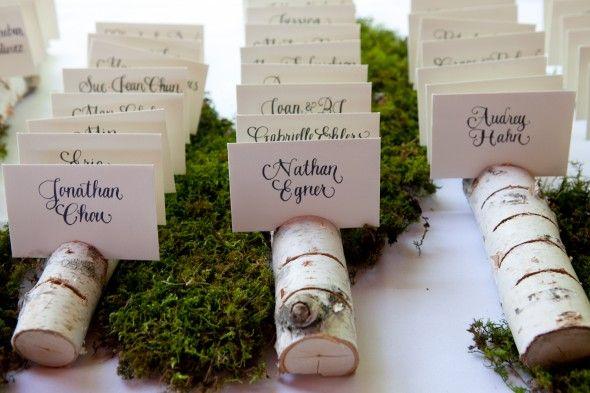 Rustic Wedding Seating Chart Ideas from rusticweddingchic.com