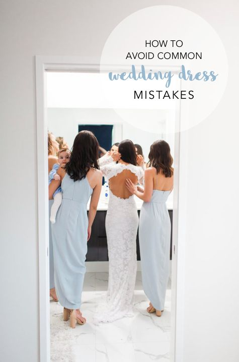How to avoid common wedding dress mistakes. Find out here: http://www.forevaevents.com.au/mistakes-dress/
