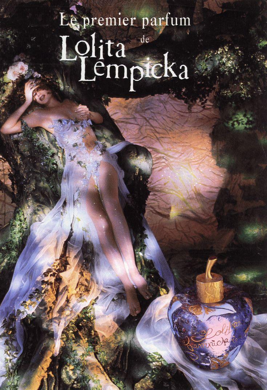 Ancienne publicité pour le parfum Lolita Lempicka