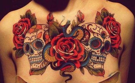 tatuaje calavera mexicana blanco y negro - Buscar con Google