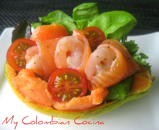 Papaya Rellena