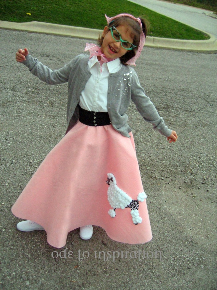 The 25 Best Poodle Skirt Halloween Costume Ideas On Pinterest