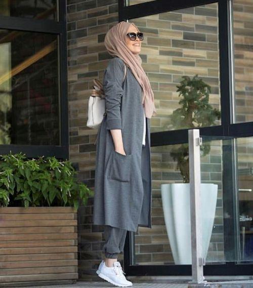 Herbst Hijab Modedesign – Just Trendy Girls – #Gir…