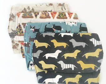 BABY BURP paños, Dachshund perros de Weiner, criaturas del bosque, Pizza, perritos: Regalos de la ducha del bebé / / contorno Burp babero / / recién nacido regalos