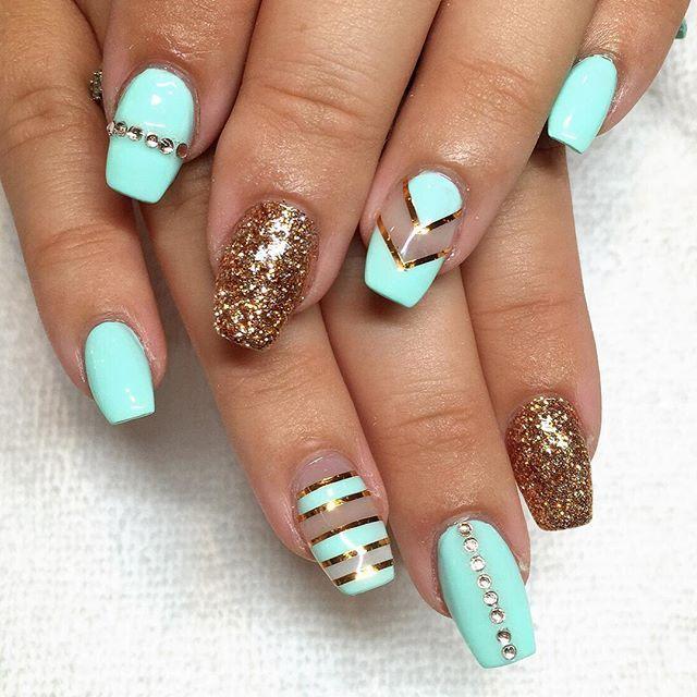 Instagram photo by @ riyathai87 #nail #nails #nailart