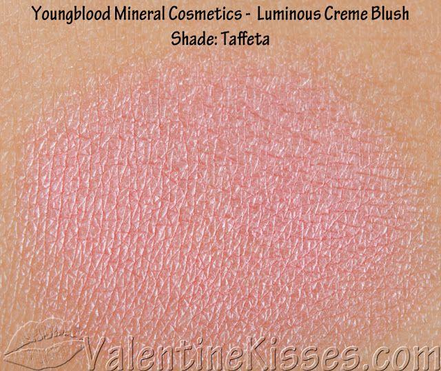 Valentine Kisses: Youngblood Mineral Cosmetics - Lip Gloss, Luminous Creme Blush, Eye-Illuminating Duo - pics, swatches, reviews